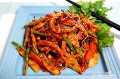 입맛돋구는 오징어무침 만드는법 - 술안주 베스트 : 네이버 블로그