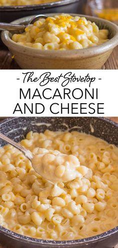 Macaroni Recipes, Mac Cheese Recipes, Baby Food Recipes, Pasta Recipes, Food Baby, Italian Spaghetti And Meatballs, Mexican Entrees, Creamy Macaroni And Cheese, Pasta Cheese