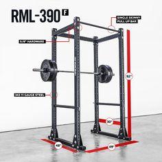 RML-390F Flat Foot MLite Rack