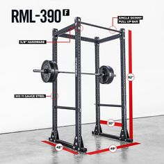 RML-390F Flat Foot MLite Rack [Top contender for our home gym!]