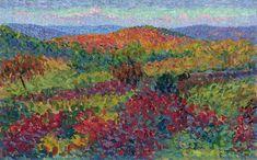 post impressionist art | Landscape - Henri Martin - WikiPaintings.org