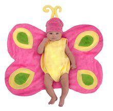 Baby can fly off to dreamland in our Baby Bunting Beautiful Butterfly Costume! Baby butterfly costume includes a butterfly wing blanket, bodysuit, and hat. Wholesale Halloween Costumes, Newborn Halloween Costumes, Toddler Costumes, Baby Costumes, Halloween Outfits, Spooky Costumes, Baby Bunting, Baby First Halloween, Toddler Halloween