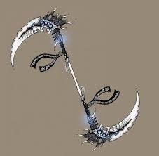 double headed scythe-Soul's weapon