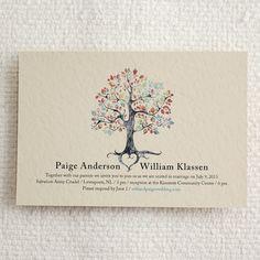 Printable Wedding Invitation & RSVP Postcard by AmyAdamsPrintables, $50.00