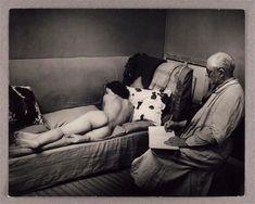Matisse dessinant un nu - Brassaï (1939)