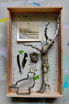 mano kellner, kunstschachtel / art box nr 39/2017, meergedanken