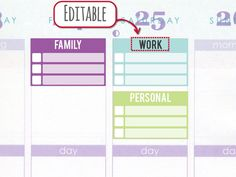 Apr-Jun Half-box Checklist [Printable and Editable], Erin Condren life planner stickers, customizable and editable