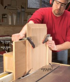 Raised-Panel Tablesaw Jig - The Woodworker's Shop