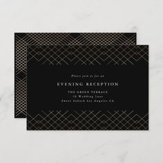 Black And White Wedding Invitations, Silver Wedding Invitations, Personalised Wedding Invitations, Wedding Black, Personalized Wedding, Gold Wedding, Bohemian Wedding Reception, Wedding Reception Cards, Different Wedding Ideas
