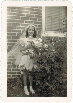 Judy's First Communion dress | Flickr - Photo Sharing!