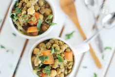 Curried Carrot and Lentil Soup #MeatlessMonday