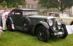 1930 Bentley 6 1/2 Litre Blue Train coupe