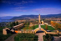 Mission Hill Winery: Majestic mountains, scenic lakes and lush orchards encase the winery's dramatic architecture and culminate in a setting that celebrates wine, food, and the arts.  - West Kelowna, British Columbia, Nearby luxury #accommodation: www.lakeviewmemories.com