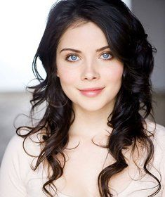 HAH Storyline: Violet eyes, Sable hair, my first choice for heroine Evelyn Marche. (Photo of actress Grace Phipps)