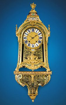 Louis XIV Boulle Bracket Clock, 18th century