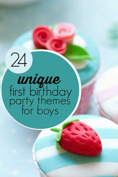 24 Unique 1st birthday party ideas for boys http://spaceshipsandlaserbeams.com/blog/2013/04/party-central/first-birthday-great-party-themes-ideas-for-boys: