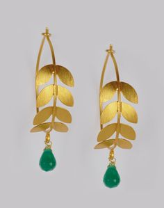 Fabindia.com   Silver Anusuya ES 1034 Emerald Bali