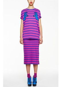 a160f555b7dab House of Holland - AW12 Oversized Nipple Pinch Tee   Skirt ( 100-200)
