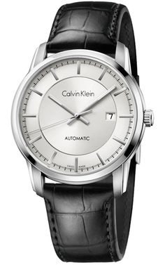 Calvin Klein Automatic Silver Dial Colour Watch # K5S341C6 (Men Watch)