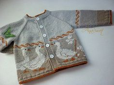 Baby Knitting Patterns Cardigan Pattern baby cardigan with a gaggle of Cardigan Bebe, Knitted Baby Cardigan, Baby Pullover, Knitted Baby Clothes, Cardigan Pattern, Summer Cardigan, Pink Cardigan, Baby Knitting Patterns, Pattern Baby