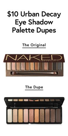 $10 dupes for the most coveted eye shadow palette ever