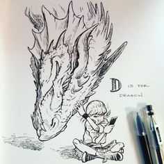 D for Dragon Photo Credit: Caleb Cleveland