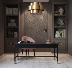 Luxury Office, Office Den, Study Office, Ceo Office, Home Office Design,
