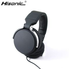 Hisonic Headset Headband Wired DJ Data Cable metal For iPod casque audio Headphones earphone Separable With Microphone headset