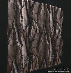 ArtStation - 2.5D Tileable Rock Sculpt, Steven Oberman