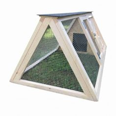 Pollaio in legno per 2 galline con recinto integrato