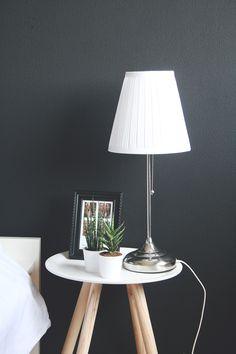 Meer dan 1000 afbeeldingen over interieur inspiratie op pinterest yucca plant interieur en cactus - Zwarte muur in de woonkamer ...