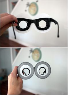 how to make minion glasses