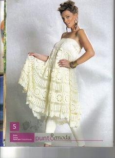 Delicadezas en crochet Gabriela: Solero muy original