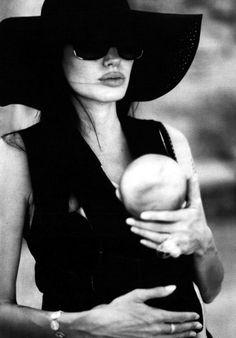 Angelina Jolie fotografada por Brad Pitt para W Magazine (2008)