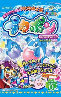 DIY Grape soda juice making kit Kracie Japanese sweets candy Puka pon http://ebay.to/1Tdfpvl