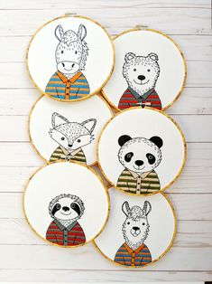 Embroidery Stitches Tutorial, Hand Embroidery Patterns, Embroidery Art, Cross Stitch Embroidery, Diy Embroidery For Beginners, Whimsical Nursery, Tips And Tricks, Stripes Design, Handmade Art