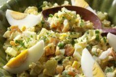 Lehký bramborový salát Pasta Salad, Salad Recipes, Potato Salad, Salads, Paleo, Potatoes, Ethnic Recipes, Food, Diet