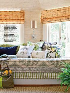 Dica relâmpago de decoração: colchões empilhados