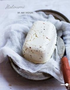 Homemade Haloumi Cheese in 1 Hour