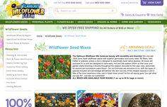 http://www.vermontwildflowerfarm.com/wildflower-seed-wildflower-mixes.html