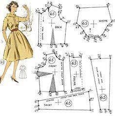Vintage Dress Patterns, Barbie Patterns, Doll Clothes Patterns, Clothing Patterns, Barbie Clothes, Sewing Clothes, Diy Clothes, Barbie Vintage, Patron Vintage
