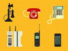 Phone Evolution icons by Joaquim Marques Nielson
