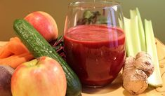 'Can't Beet It' Juice Recipes for Liver Cleanse Healthy Juice Recipes, Juicer Recipes, Healthy Juices, Healthy Smoothies, Healthy Drinks, Smoothie Recipes, Healthy Eating, Yogurt Smoothies, Easy Recipes