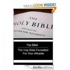 An addition to thousands of books, apps and games, the Kindle also has an app for The Holy Bible. With the Holy Bible on your Kindle you are free...