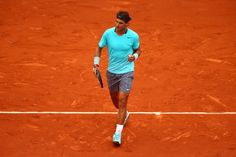 Rafael Nadal's Style on the Tennis Court - Vogue Daily - Fashion and Beauty News and Features - Vogue