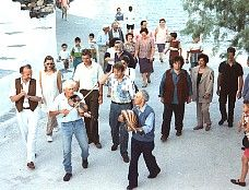 Introduction to traditional Greek music and Rembetika plus other articles about music in Greece Greek Music, Greece Islands, Greek Wedding, Wedding Music, Santorini, Getting Married, Folk, Articles, Weddings