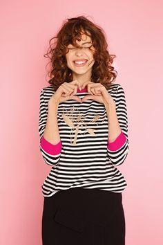 #furelle #furellefashion #furellestyle #style #fashion #designer #fashiondesigner #takaja #beyourself #woman #womanfashion #fashionity #womanity #womanhood #takaja #womandress #springsummer #2017 #colors #lovetocolor #feminine #woman #stripedshirt 2017 Colors, Colours, Elle Fashion, Womens Fashion, Feminine, Spring Summer, Woman, Fashion Design, Tops