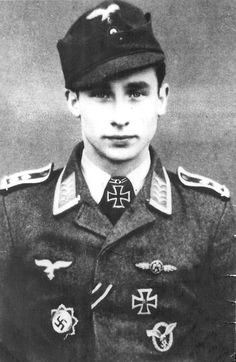 ✠ Otto Würfel (3 February 1920 - 22 December 1944) Accidentally rammed by his wingman. He survived the crash, but died in Soviet captivity.