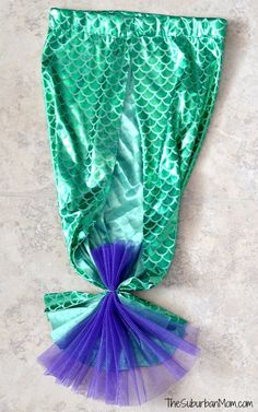 Homemaid Mermaid Tail Back