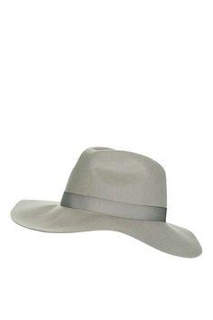 Grey Fedora Hat